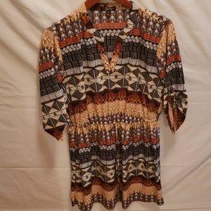 Womens patterned dress